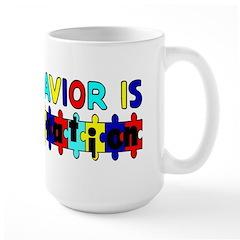 All behavior is communication (10x3 sticker Mugs