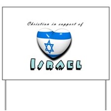 Christian Support Israel Yard Sign