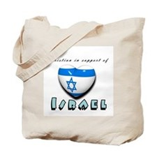 Christian Support Israel Tote Bag