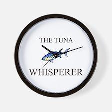 The Tuna Whisperer Wall Clock