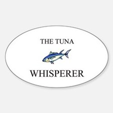 The Tuna Whisperer Oval Decal