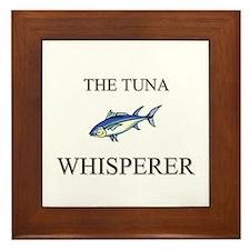 The Tuna Whisperer Framed Tile
