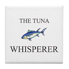 The Tuna Whisperer Tile Coaster