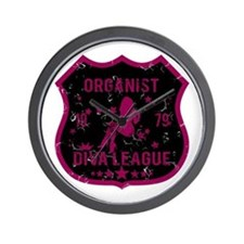 Organist Diva League Wall Clock