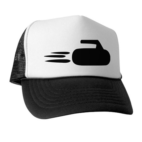 curling icon Trucker Hat