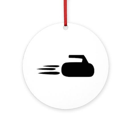 curling icon Ornament (Round)