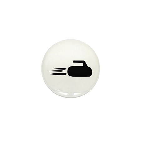 curling icon Mini Button (100 pack)
