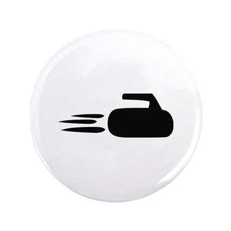 """curling icon 3.5"""" Button"""