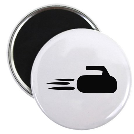 "curling icon 2.25"" Magnet (100 pack)"