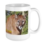 Mountain Lion Large Mug