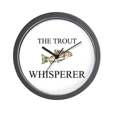 The Trout Whisperer Wall Clock