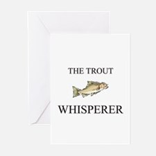 The Trout Whisperer Greeting Cards (Pk of 10)