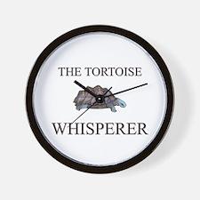 The Tortoise Whisperer Wall Clock