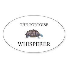 The Tortoise Whisperer Oval Decal