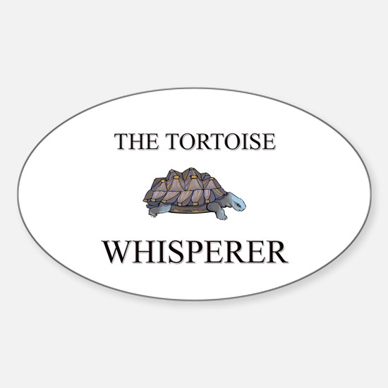 The Tortoise Whisperer Oval Decal