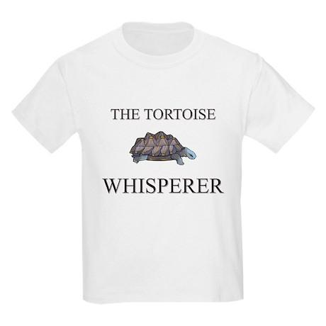 The Tortoise Whisperer Kids Light T-Shirt
