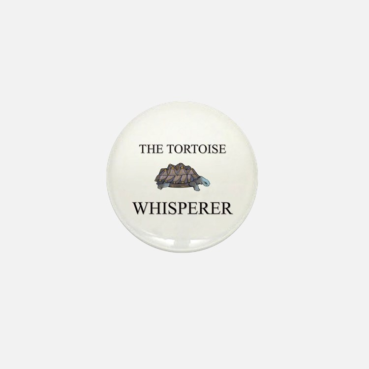 The Tortoise Whisperer Mini Button (10 pack)