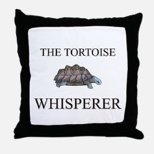 The Tortoise Whisperer Throw Pillow