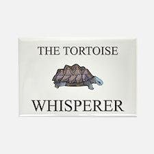 The Tortoise Whisperer Rectangle Magnet