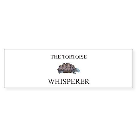 The Tortoise Whisperer Bumper Sticker