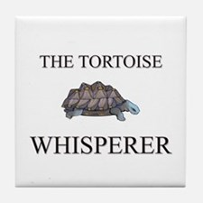 The Tortoise Whisperer Tile Coaster