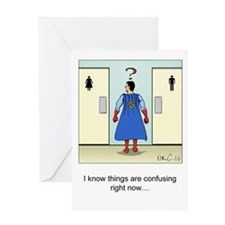 """Confusing Signs"" Greeting Card"