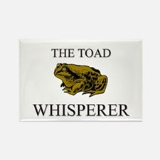 The Toad Whisperer Rectangle Magnet
