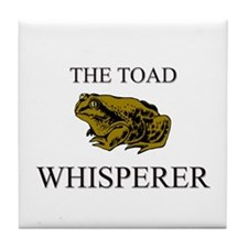 The Toad Whisperer Tile Coaster