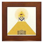 The Lodge and Eye Framed Tile