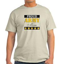 Proud Stars Army Mom T-Shirt