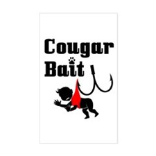Cougar Bait -- Rectangle Decal