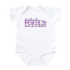 Rebekah Infant Bodysuit