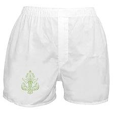 Green Line Fleur de lis Boxer Shorts