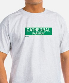 Cathedral Parkway in NY T-Shirt