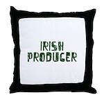 Irish Producer Throw Pillow