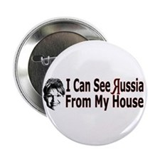"Looking at Russia 2.25"" Button"