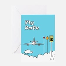 Fly Safe Greeting Card
