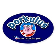 Porkulus Oval Decal