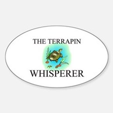 The Terrapin Whisperer Oval Decal