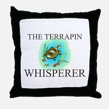 The Terrapin Whisperer Throw Pillow