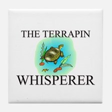 The Terrapin Whisperer Tile Coaster