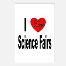 I Love Science Fairs Postcards (Package of 8)