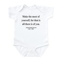 Ralph Waldo Emerson 19 Infant Bodysuit