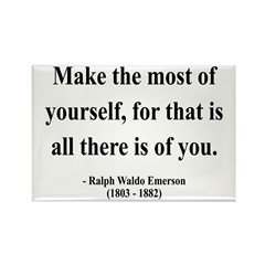 Ralph Waldo Emerson 19 Rectangle Magnet (100 pack)