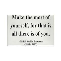 Ralph Waldo Emerson 19 Rectangle Magnet
