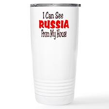 I see russia Travel Mug