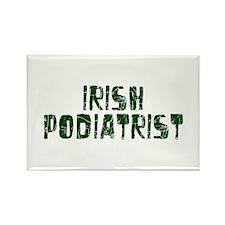 Irish Podiatrist Rectangle Magnet