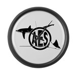 AES Logo Large Wall Clock