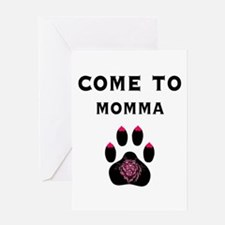 Cougar: Come to Momma Greeting Card