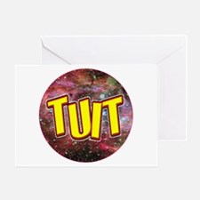 """A Round TUIT"" Greeting Card"